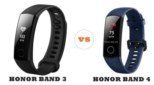 honor band 4 vs honor band 3 compared
