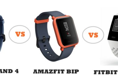 honor band 4 vs amazfit bip vs fitbit charge 3 compared