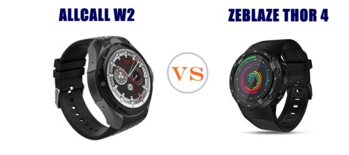 allcall w2 vs zeblaze thor 4 compared